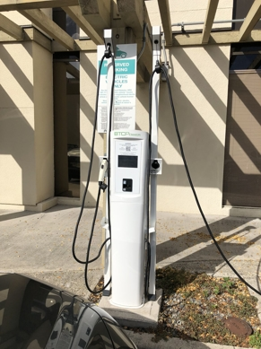 Commercial Electric Vehicle Charging Station