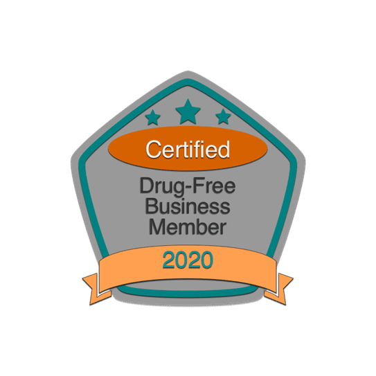 Certified Drug-Free Business Member 2020